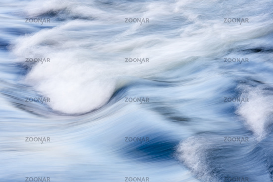 Waves, Pite river, Lapland, Sweden