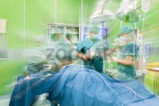 Hospital surgery operation