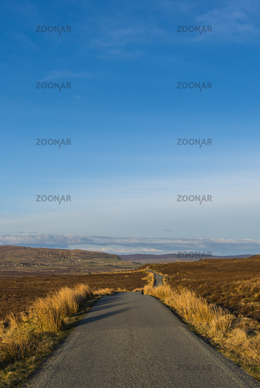 Road on Isle of Skye
