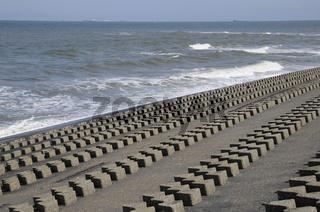 Wellenbrecher auf Wangerooge