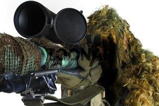 Sniper aiming rifle
