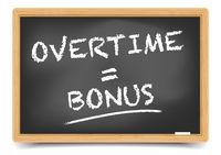 Blackboard Overtime Bonus