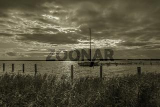 Im Hafen vor Anker