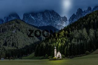 Church of St. Giovanni in Ranui, South Tyrol
