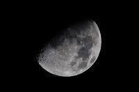 Mond 26.11.09 hochauflösend