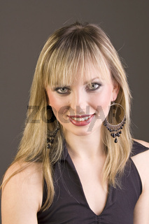 Beauty Portrait junge blonde Frau, young blonde woman