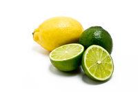 Limetten und Zitrone