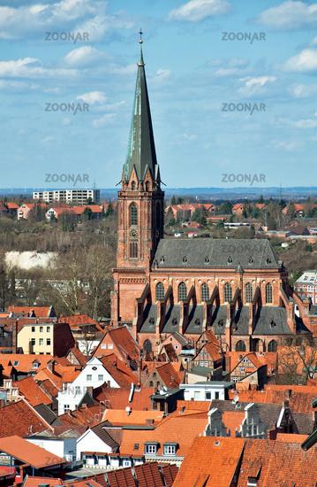 Lueneburg, Germany, Medieval Town Center