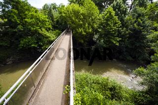 Brücke über den La Touch, Toulouse, Frankreich