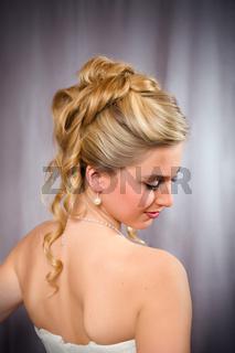 Bridal fashion.