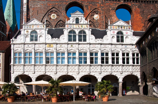 Luebeck, Germany, Town Hall