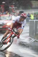 Tour de France - Stuerze at the time trial