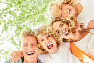 Familie und Kinder sind begeistert
