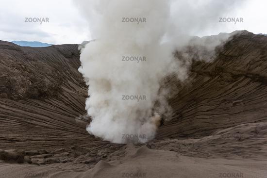 Mountain Bromo volcano - island Java Indonesia