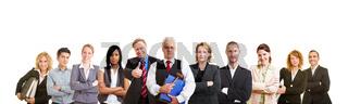 Gruppe von erfolgreichen Anwälten