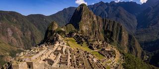 The Inca city of Machu Picchu