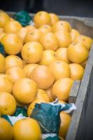 Orangen auf dem Wochenmarkt