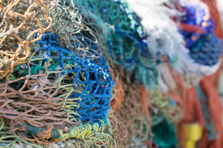 Colorful Fishing Nets