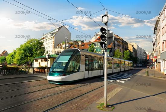 Tram in Strasbourg
