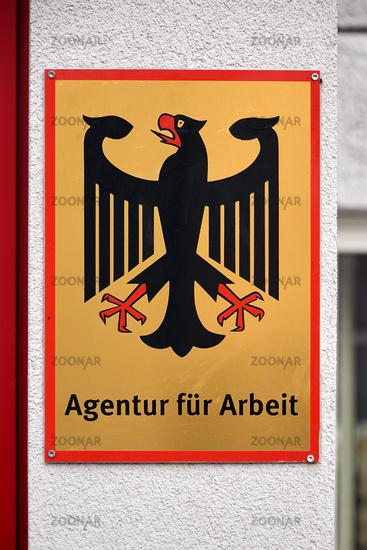 German shield for job agency