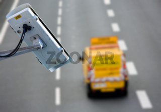 CCTV system on the road