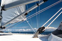 lines on a sailing yacht
