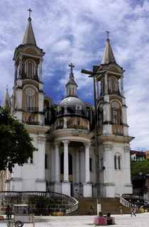 St. Sebastian Kathedrale, São Sebastião, Ilhéus, Bahia, Brasilien, Südamerika