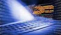 Keyboard with programming code and binary code