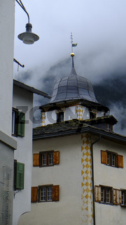 Andeer, Wohnhaus mit Turm