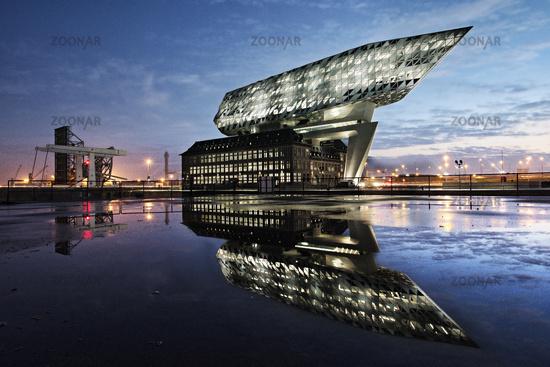 Harbour House, Antwerp, Flanders, Belgium