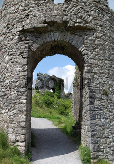 Entrance to age old ruins