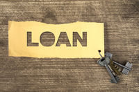 Loan for real estate concept