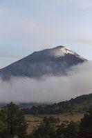Vulkan Popocatepetl in Mexcico