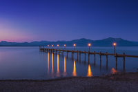 Lake chiemsee, Bavaria, Germany