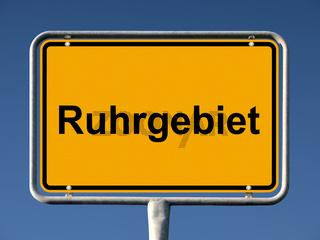 Ruhrgebiet Ortsschild