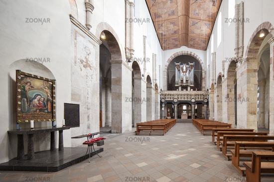 St. Maria im Kapitol, Romanesque Church, Cologne, Rhineland, North Rhine-Westphalia, Germany, Europe