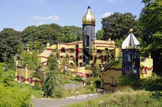 Hundertwasser Haus im Gruga Park in Essen