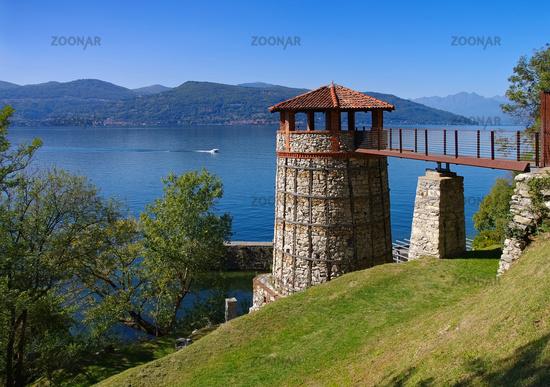 Ispra Kalkofen Port del Pinet, Lake Maggiore - Ispra, the old Lime kiln Port del Pinet, Lake Maggiore