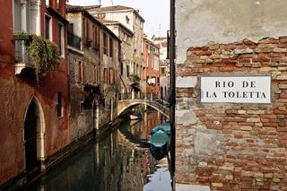 Venedig, Rio de la toletta