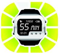 digital watch timer 55 minutes