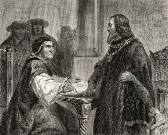 Sigismund of Luxemburg, 1368-1437, Holy Roman Emperor and Antipope John XXIII or Baldassarre Cossa, c. 1370 – 1419