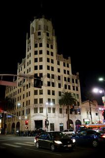 Hollywood Boulevard in der Nacht
