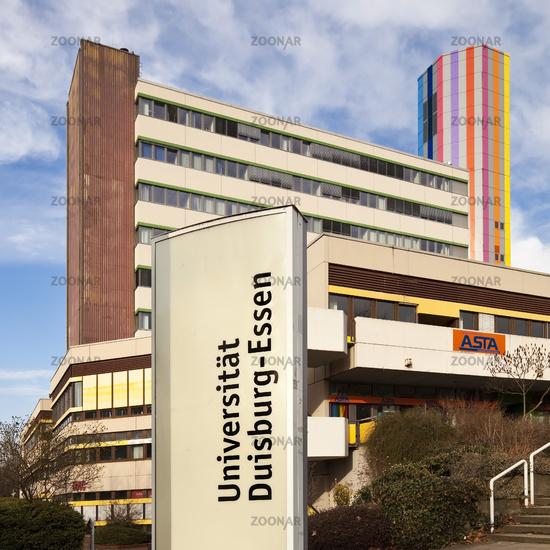 University Duisburg-Essen, Essen, Ruhr Area, North Rhine-Westphalia, Germany, Europe