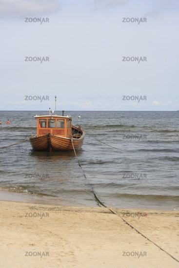 fishing boat at the German Baltic Sea