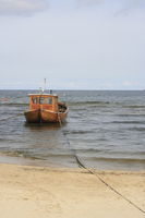 fishing boat at the German Baltic Sea