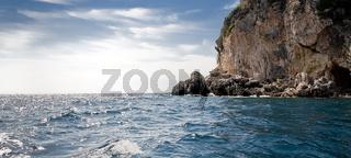 Küste am Mittelmeer