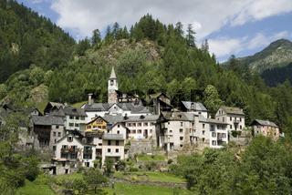 Fusio in Tessin, Schweiz