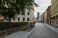 Castle church street Wittenberg