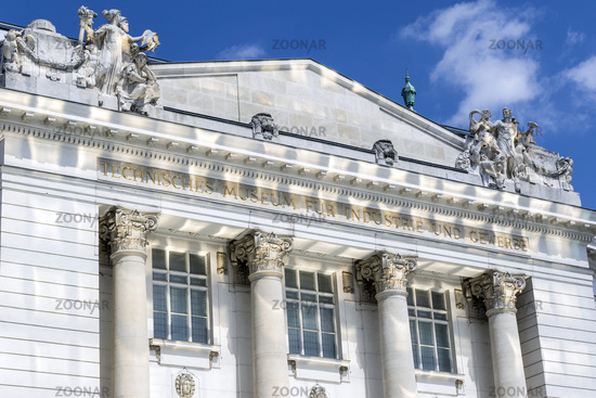 The historic Technical Museum of Vienna