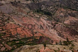 Erdrutsch / Land Slip (Andes)
